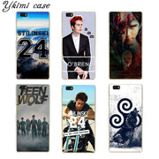 Fashionable Teen Wolf Season Phone Cases For Huawei Ascend P6 P7 P8/P8 Lite P9/P9 Lite Case Transparent Hard Cover