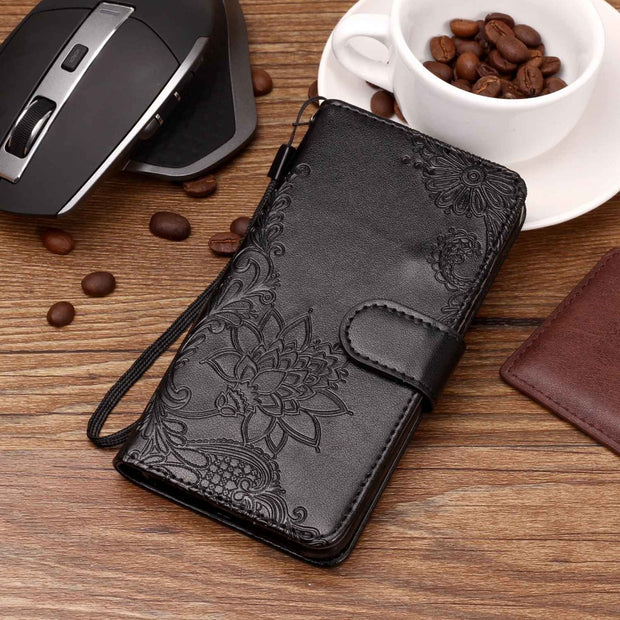 Flip Case For LG Q6 Case Q6a M700 Window View Stand Covers For LG Q6 Aqua Cases For LG Q6 Q7 Q8 Cover PU Leather Phone Case Capa