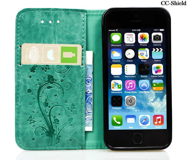 Flip Case For Apple IPhone 5 S 5S SE I Phone5 Phone5S PhoneSE Case Phone Leather Cover For Apple IPhone5 IPhone5S IPhoneSE Capa