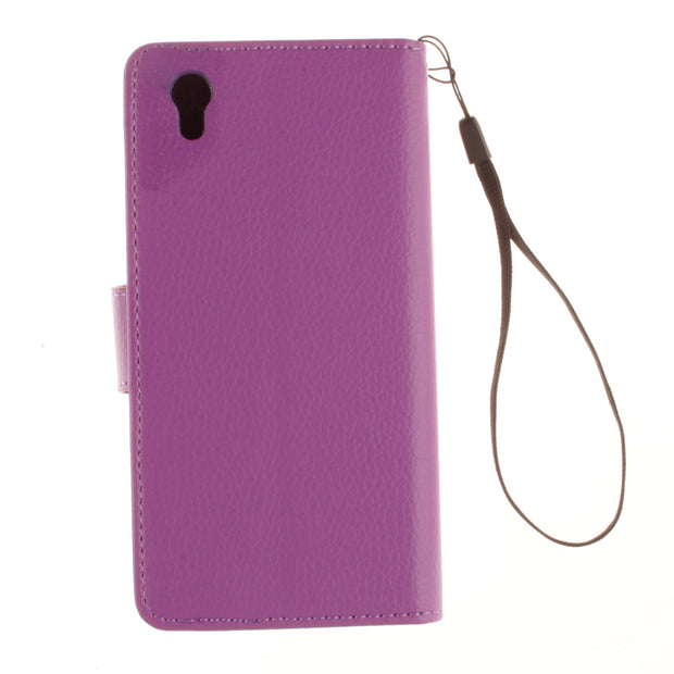 Flip Case For Lenovo P70 P 70 70A 70T Leather Cover Solid Color Photo Frame Flip Phone Leather Case For Lenovo P70-A P70-T