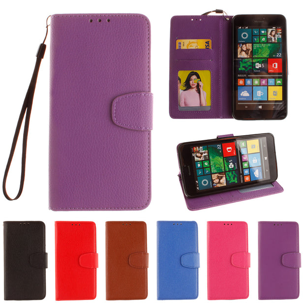 Flip Case For Microsoft Nokia Lumia 640XL / 640 XL / Lumia640XL LTE Dual Case RM-1064 RM-1065 Phone Leather Cover For Nokia RM