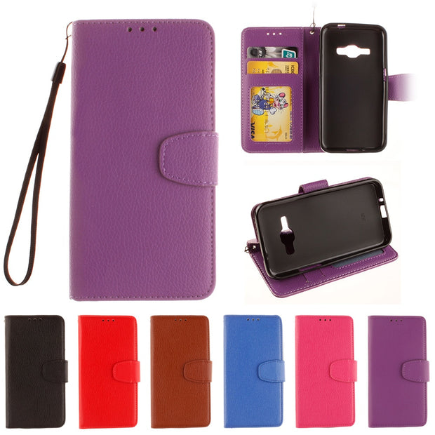 Flip Case For Samsung Galaxy J1 J 1 120 2016 J120 J120F SM-J120F Case Phone Leather Cover J120M SM-J120M J120h SM-J120h SM-J120