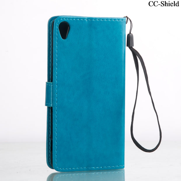 Flip Case For Sony Xperia XA F3111 F3112 F3116 Leather Flip Cover Wallet Case For Sony Xperia X A F 3111 3112 Mobile Phone Bags