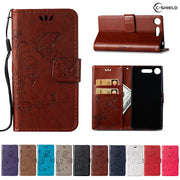 Flip Case For Sony Xperia XZ Premium G8188 SO-04J G8141 Leather Flip Cover Wallet Case For Sony Xperia XZPremium G8142 Hone Bag