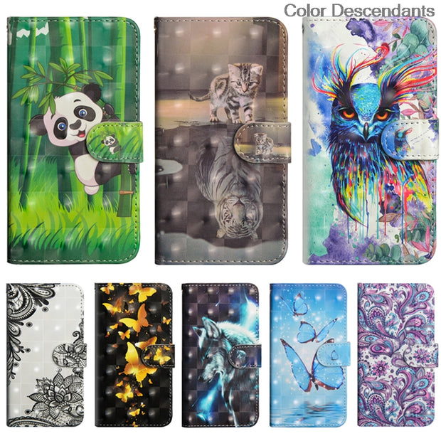 Flip Coque For Huawei Honor 9 Lite Case 9Lite LLD Phone PU Leather Cover For Case Huawei P Smart FIG-LX1 FIG-LA1 FIG-LX2 FIG-L22