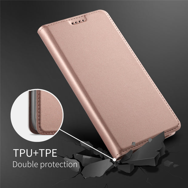 Flip Phone Case For Huawei Y5 2018/Y5 Prime 2018/Honor 7s Case PU Leather Flip Stand Wallet Case With Kickstand & Card Pocket
