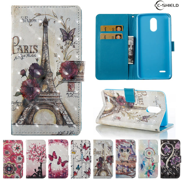 Flip Case For LG Stylus 3 Stylus3 M400 M400MT M400F M400dY Phone Leather Case For LG Stylo 3 Stylo3 M400DK L83BL L84VL M430 Capa