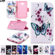 Flip For Samsung Galaxy J400F Case SM-J400 J400fn Sm-J400 For Galaxy J4 2018 SM-J400FN/DS J400GN SM-J400G Cover Mobile Phone Bag