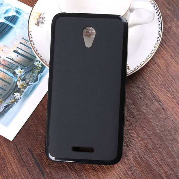 For Alcatel U50 Ultra Thin Soft TPU Silicone Case For Alcatel U50 Flexible Gel Shockproof Protective Phone Cover For Alcatel U50