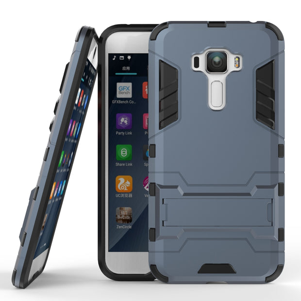 For Asus Zenfone 3 ZE552KL Case Z010D Heavy Duty Armor Case Hybrid