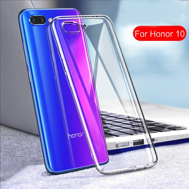 For Honor 10 Case Cover For Huawei Honor 10 Soft TPU Back Cover Case For Honor10 Full Cover Transparent Silicone Back Case