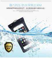 For Huawei Honor 6X/5X/4X/6/6Plus/7/7i/8/honor 8 Lite/4A/5C/5A/6A Waterproof Pouch Bag Diving Float Underwater Touch Cover Case