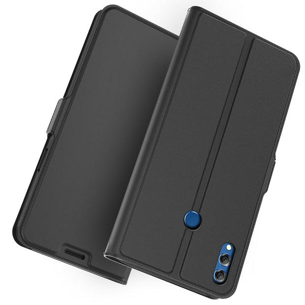 For Huawei Honor 8X Max Case PU Leather Flip Stand Wallet Case Cover With Card Holders & Magnet Buckle For Huawei Honor 8X Max