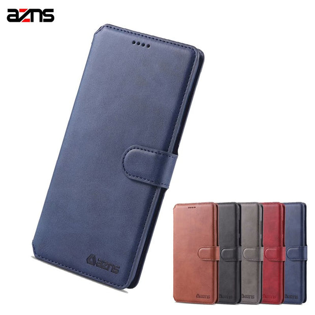 For Huawei Maimang 7 Mate 20 Lite Cases Luxury Silicone Case Cover For Huawei Mate 20 Lite Wallet Case Stand Flip PU Leather