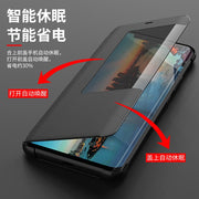 For Huawei Mate 20 Pro Case Flip Cover Leather Case For Huawei Mate 20Pro Cover Smart View Case For Huawei Mate 20 Pro Phone Bag