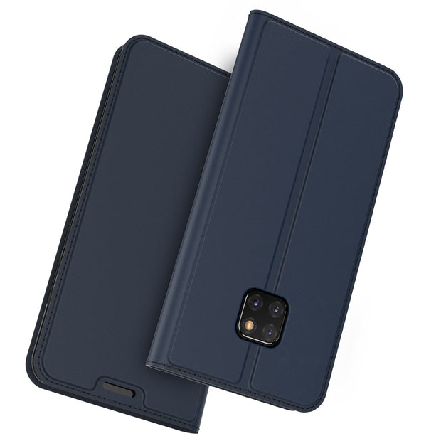 For Huawei Mate 20 Pro Case PU Leather Ultra Thin Flip Protective Cover With Card Slot Stand Function For Huawei Mate 20 Pro