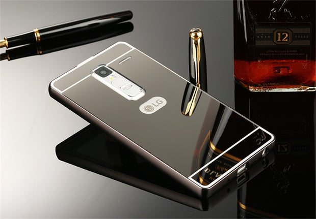 a469b34e83c714 For LG Class LG Zero H740 F620 H650 H650E Case Plating Metal Frame With  Mirror Back