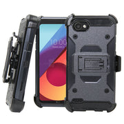 For LG Q6 Case Heavy Duty Holster Belt Clip Hybrid Rugged Case Shockproof Impact Protective Hard Phone Cover For LG Q6 / Q6 Mini