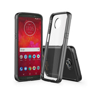 For Motorola Moto Z3 Play Case Soft Silicone+Transparent PC Armor Protective Back Cover Case For MOTO Z3 Play Phone Shell Capa