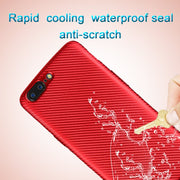 For One Plus 5 TPU Case Carbon Fiber Slim Duarable Cases Air Cushion Tecnology TPU Impact Silicone Protective.