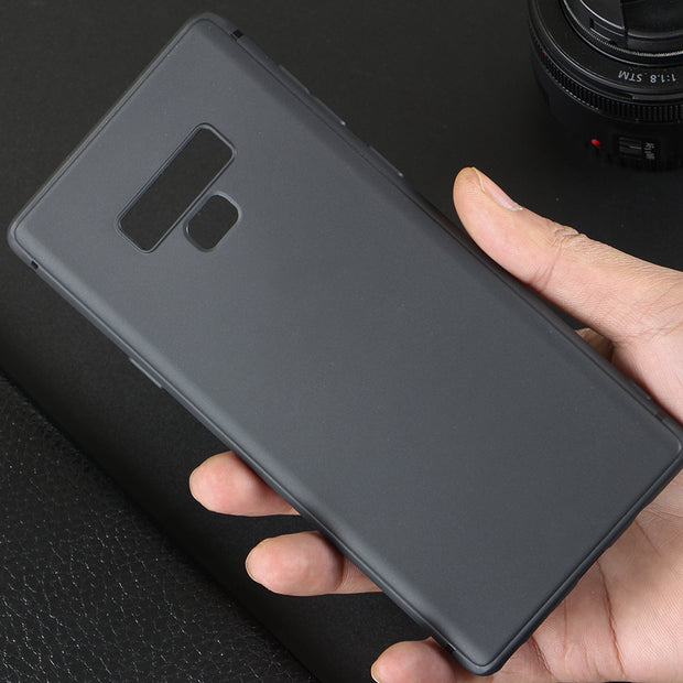 For Samsung Galaxy Note 9 8 Matte TPU Case Frosted Soft Cover Protective Case For Samsung S9 S8 Plus