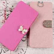 For Sony Xperia C3 C4 T3 M2 M4 Aqua M5 Dual S50 S55 M50 Case Cover PU Leather Flip Wallet Fundas Phone Cases Bag Card Slot Coque