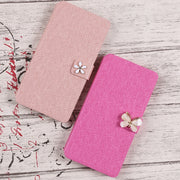 For Sony Xperia Z1 Z3 Z5 Z5C Compact M51W M55W Case Cover Luxury PU Leather Flip Wallet Fundas Phone Cases Bag Card Slot Coque