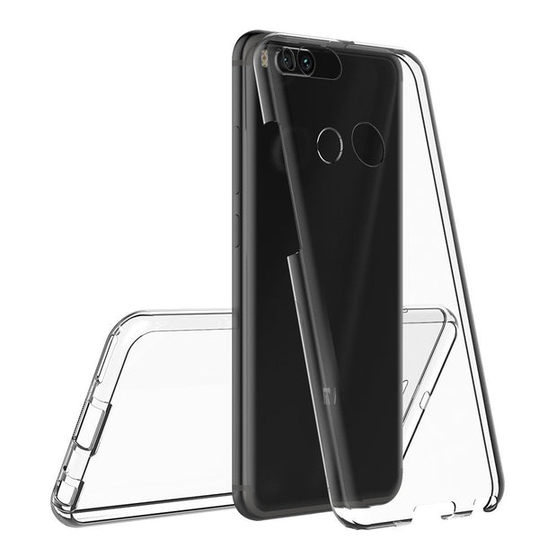 For Xiaomi Mi A1 Case Xiaomi Mi 5X Case 360 Degree Full Cover Soft Clear Case Transparent Silicone Cover For Xiaomi Mi 5X A1