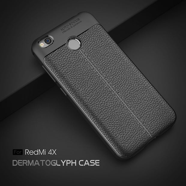 For Xiaomi Redmi 4X Case 5.0 Inch New Luxury Ultra-Thin Soft TPU Leather Phone Cases For Xiaomi Redmi 4X4 X Pro Phone Bags Cases