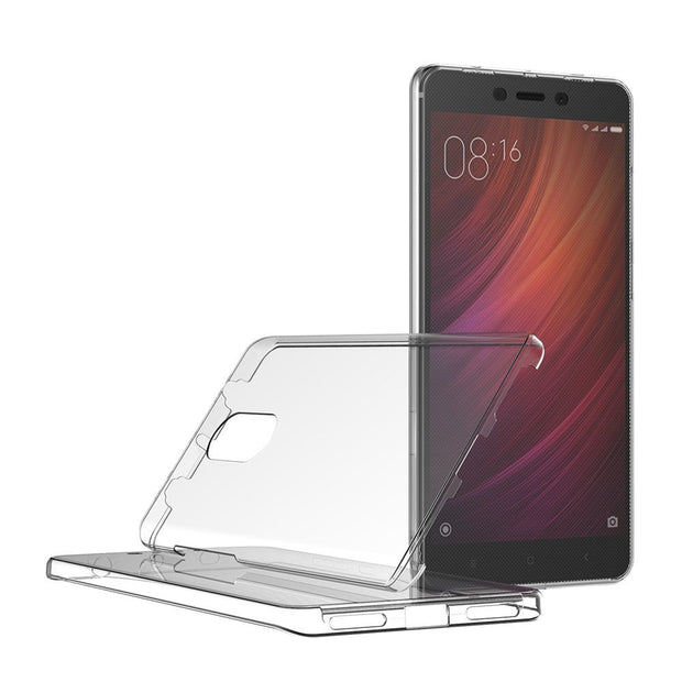 For Xiaomi Redmi Note 4 4X Case 360 Degree Full Cover Soft Clear Transparent Silicone Cover For Redmi Note 4X Pro Global Version