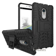 For Xiaomi Redmi Note 4 Hongmi Note 4 PC + Silicone Rugged Tire 3D Armor Case With Stand For Xiaomi Note 4 Military Army Cover )