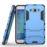 Fundas Armor Case For Samsung Galaxy J7 2016 J710 Heavy Duty Hybrid Hard Rugged Plastic Rubber Kickstand Phone Cover Case Conque