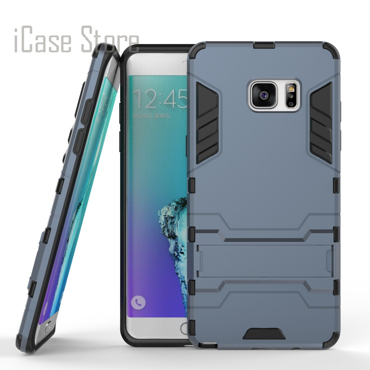 Fundas For Samsung Galaxy Note 7 N9300 Case Heavy Duty Armor Case Hybrid  Hard Silicone Rubber Phone Case Cover For Galaxy Note 7