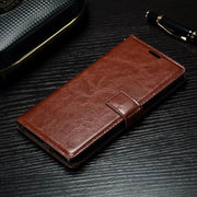 GXE Luxury PU Leather Case For Sony Xperia XA1 XA X Performance XZ Premium XZs X Compact Wallet Flip Stand Cover Coque Fundas