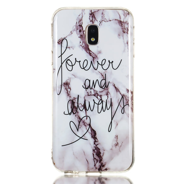HEMASOLY Marble Case For Samsung Galaxy J3 2016 2017 Case For J310 J320 J330 Silicone Case Luxury Pattern Soft TPU Back Cover