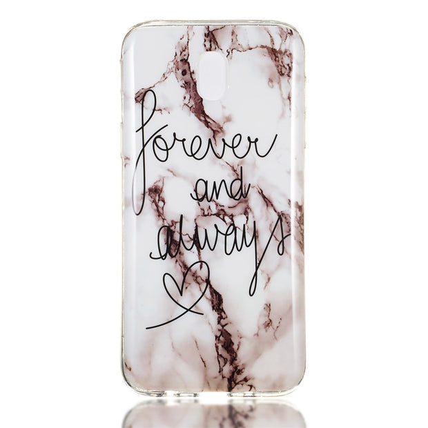 HEMASOLY Marble Case For Samsung Galaxy J7 2016 2017 Case For J710 J720 J730 Silicone Case Luxury Pattern Soft TPU Back Cover