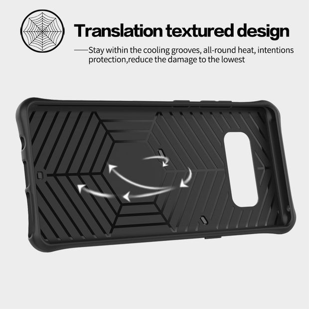 Heavy Duty Case Full-body Rugged Hybrid Protective Cover Impact Resistant For Samsung Galaxy Note 8