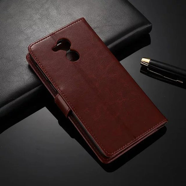 Honor8 Leather Case For Huawei Honor 6X Retro Flip Case Cover For Huawei Honor 8 6 7 Wallet Stand Phone Case For Huawei 5X 4X