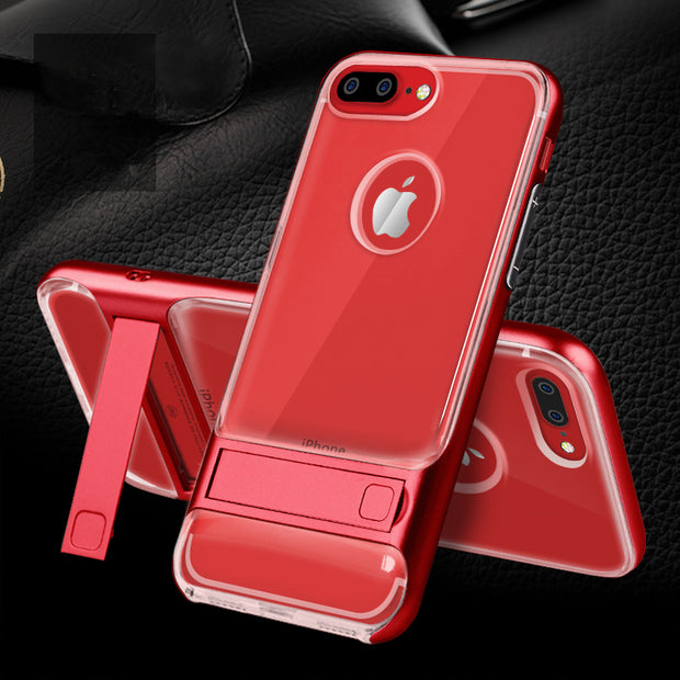 Hot Sale Brand New Innovative 3D Kickstand Hybrid TPU+PC Royce 360 Protective Case For IPhone 6/6s 6/6s Plus 7/7Plus Cover Para
