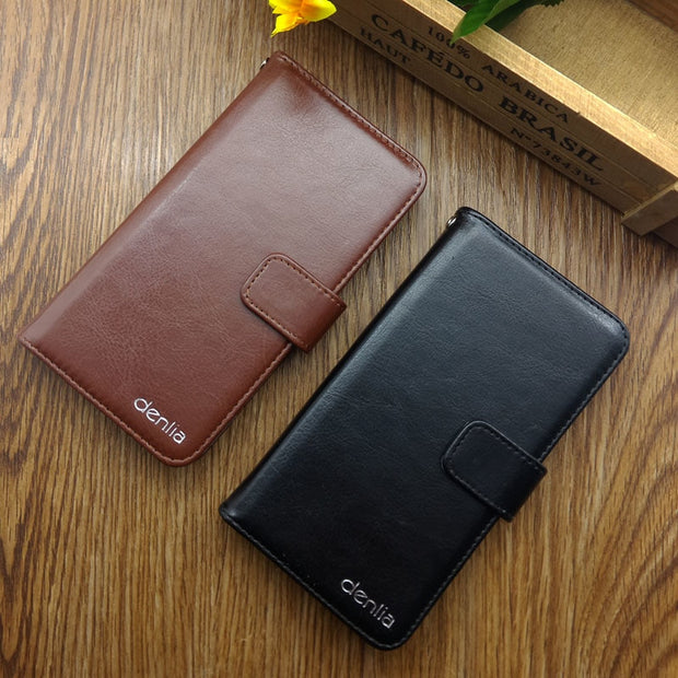 Hot Sale! Vodafone Smart Ultra 7 Case New Arrival 5 Colors High Quality Fashion Leather Protective Cover Phone Bag
