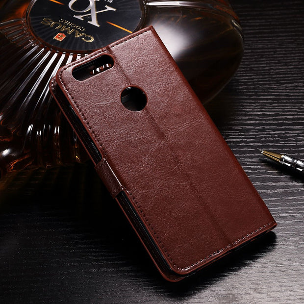 IDOOLS Luxury PU Leather Wallet Case For Google Pixel 3 Flip Phone Cover Funda For Google Pixel 3 Bags Cases With Card Holder