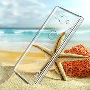 IMAK Clear Crystal Wear Resistance Hard Plastic Back Cover Case For Sony Xperia XZ2 Compact Transparent Case Xperia XZ2 Compact