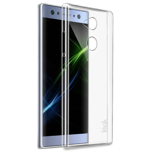IMAK For Sony Xperia L2 Clear Crystal Wear Resistance Hard PC Back Cover For Sony Xperia L2 Transparent Case