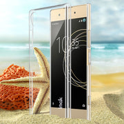 IMAK For Sony Xperia XA1 Plus Clear Crystal Wear Resistance Hard PC Back Cover Case For Sony Xperia XA1 Plus Transparent Case