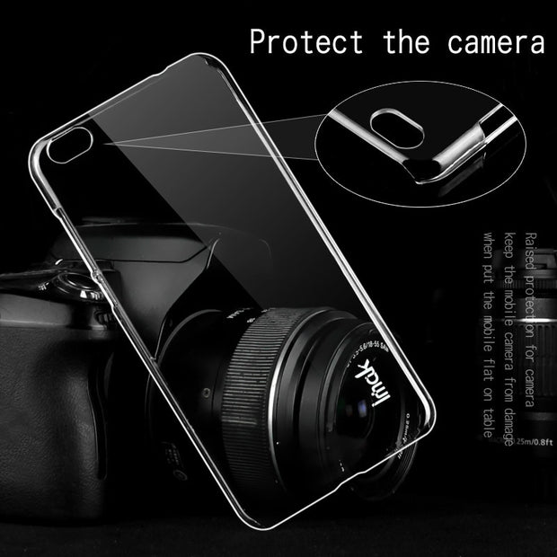IMAK For Xiaomi Mi 5C Clear Crystal Wear Resistance Hard PC Back Cover For Xiaomi Mi 5C Transparent Case