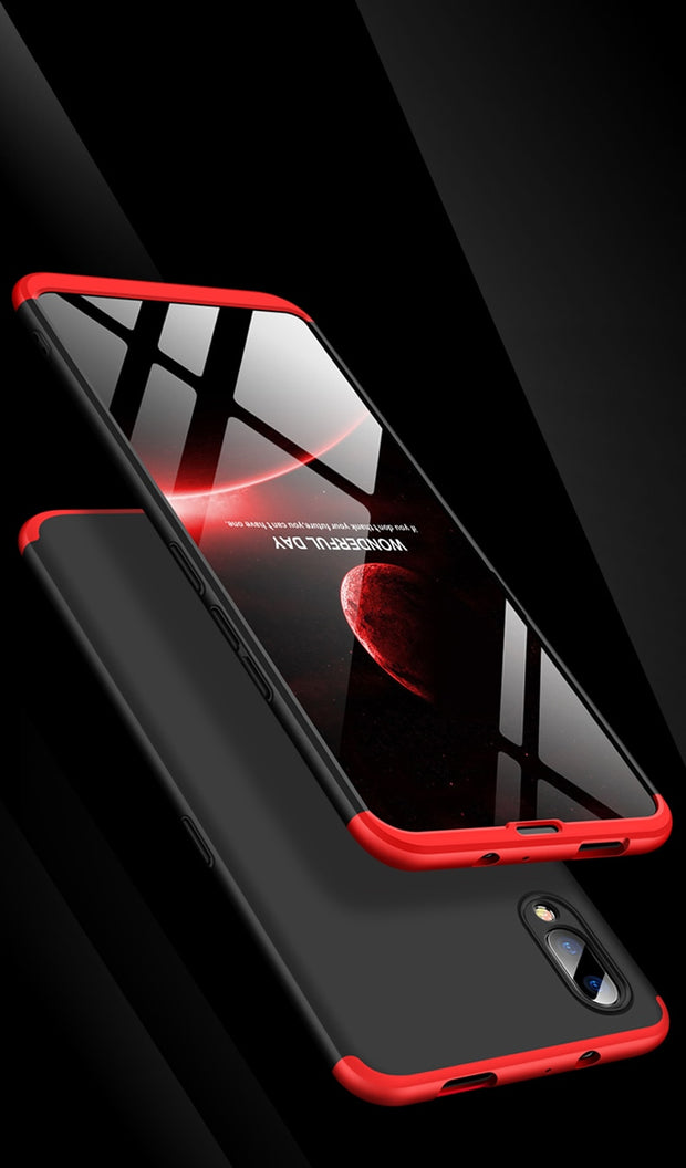 INTLMATE All Protection Case For Vivo NEX Anti-knock 3 In 1 Slim Hard Matte Chic Cover