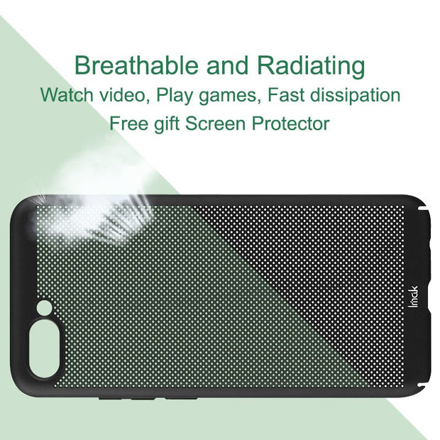 Imak Jazz Mesh Hard PC Heat Dissipation Cover For Huawei Honor 10 Breathable Phone Case For Huawei Honor 10 Case Protection Capa