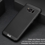 Imak Jazz Mesh Hard PC Heat Dissipation Cover For Samsung Galaxy S8 Plus Breathable Phone Case For Samsung S8+ Case Protect Capa