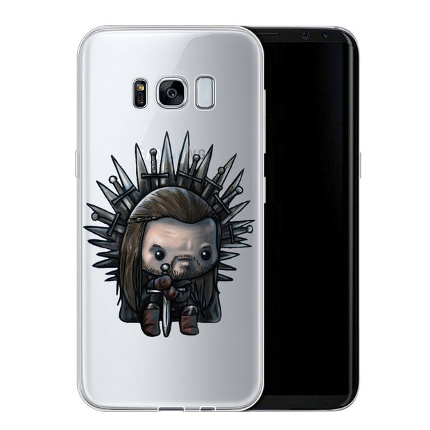 Kiliai Game Thrones Daenerys Dragon JonSnow Tyrion For Samsung Galaxy 2017 2016 2015 A7 A3 A5 J7 J5 S6 S7 S9 NOTE8 Case
