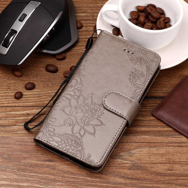 Leather Case For Xiaomi Mi 8 Case Cover Luxury Black Vintage Flip Wallet Coque For Xiaomi 8 Mi 6 Mi8 6x Case Card Slot Holder